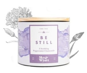 Be still CBD tea for sleep